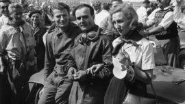 Luigi Chinetti - Vainqueur des 24h du Mans 1949 - Au centre (Photo d'époque)