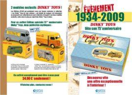 Publicité Dinky Toys de mon enfance - Editions Atlas - Coffret anniversaire