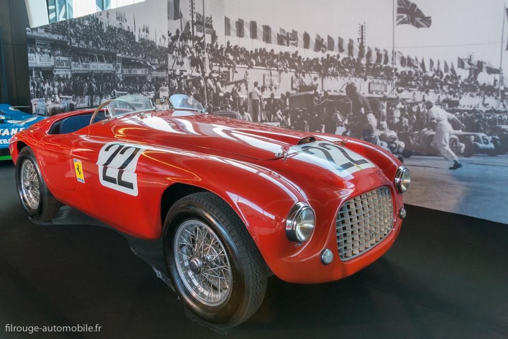 Ferrari 166 MM 1949 - 1ère victoire Ferrari aux 24 Heures du Mans