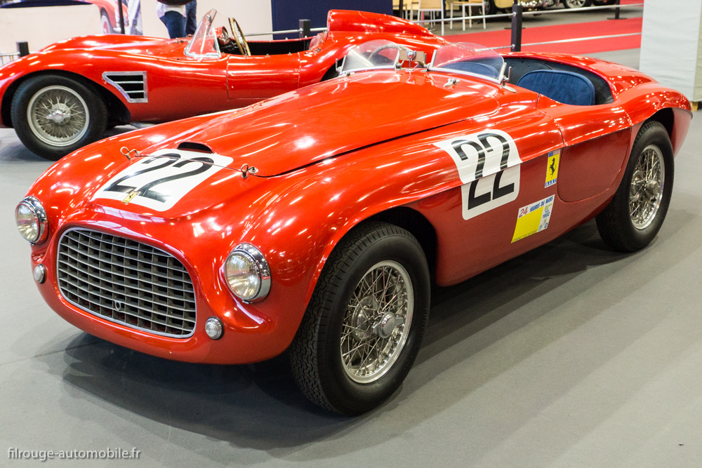 Ferrari 166 MM - vainqueur 24 heures du Mans 1949