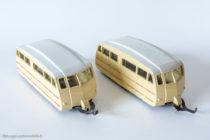 Caravane de camping - Dinky Toys réf. 811 - toit lisse et strié
