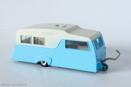 Caravane à quatre couchettes - Dinky Toys anglais réf. 188
