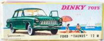 Boite Ford Taunus Dinky Toys - illustration de paysage de plage