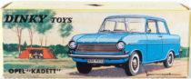 Boite Opel Kadett Dinky Toys - illustration de paysage de camping
