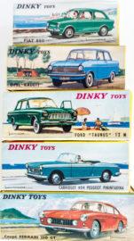 Boites Dinky Toys - illustration de paysages de vacances