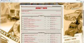 Dinky Toys de mon enfance - Editions Atlas - Le deuxième forum
