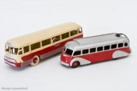 Autocar Chausson Dinky Toys réf. 29F et Isobloc 29E