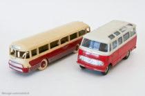 Autocar Chausson Dinky Toys réf. 29F et Mercedes Benz réf. 541