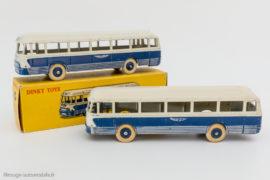 Autocar Chausson Dinky Toys réf. 29F et 571 - roues concaves puis convexes
