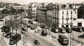 Les autocars à Nantes, années 1950