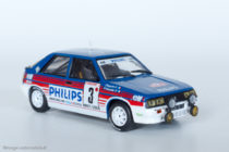 Renault 11 turbo groupe A - 6ème au rallye de Monte Carlo 1987 - IXO / Altaya