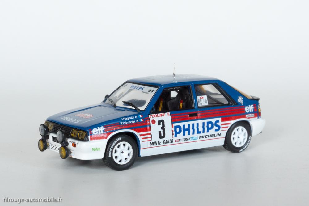 Voiture de rallye Voitures mythiques du rallye Monte-Carlo Miniature Ford Les