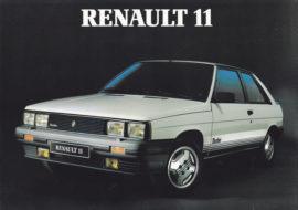 Renault 11 turbo - Publicité Renault