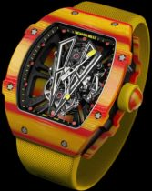Montre Richard Mille, Rafael Nadal 2017