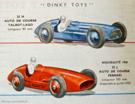 Dinky Toys - catalogue 1956