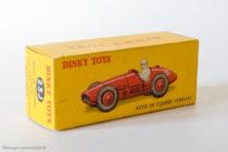 Dinky Toys 23J - Ferrari 500 F2 - Boite
