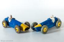 Dinky Toys 23H et 209 - Ferrari 500F2