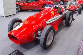 Ferrari 500 F2 de 1952 - ici à Rétromobile 2017