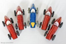 Dinky Toys 23J et 23H - Ferrari 500 F2