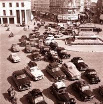 Embouteillages années 1950