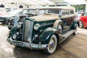 Autobrocante de Lohéac 2017 - Vente aux enchères - Packard Super 8 1936