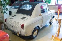 La Vespa 400 du Manoir de l'automobile de Lohéac