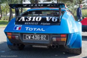 Autobrocante de Lohéac 2017 - Les 40 ans de l'Alpine A310 V6