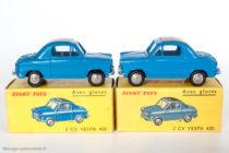 Vespa 400 - Dinky Toys réf. 24L - nuances de bleu