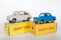 Vespa 400 - Dinky Toys réf. 24L et Fiat 600 - Dinky Toys réf. 520