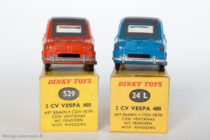 Vespa 400 - Dinky Toys réf. 24L et 529