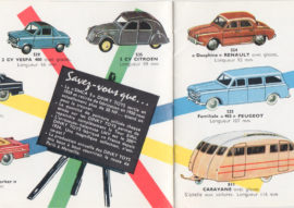 Catalogue Dinky Toys 1960 - extrait