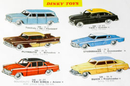 Catalogue Dinky Toys 1959 - extrait