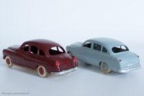 Norev réf. 2 et Dinky Toys réf. 24X - Ford Vedette 1954 - en concurrence