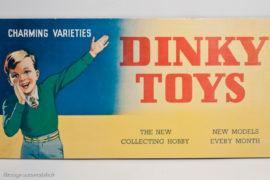 Dinky Toys - panneau publicitaire