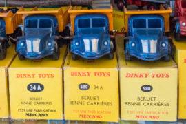 Dinky Toys réf. 34A et 560 - Berliet benne carrière