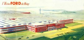 L'usine Ford de Poissy