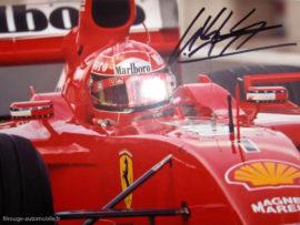 Autographe de Mickaël Schumacher