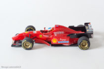 Ferrari F310 de 1996 - Mickaël Schumacher - Hot Wheels au 1/43ème