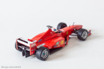 Ferrari F399 de 1999 - Mickaël Schumacher - Hot Wheels au 1/43ème