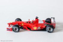 Ferrari F1-2000 de Mickaël Schumacher - Hot Wheels au 1/43ème
