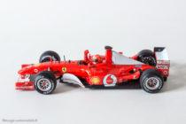 Ferrari F2002 de Mickaël Schumacher - Hot Wheels au 1/43ème