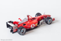 Ferrari F2004 de Mickaël Schumacher - Hot Wheels au 1/43ème