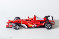 Ferrari 248 F1 de 2006 de Mickaël Schumacher - Hot Wheels au 1/43ème