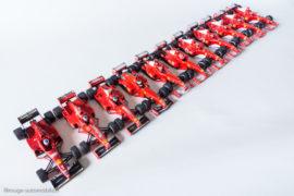 Les Ferrari de Mickaël Schumacher - Hot Wheels au 1/43ème
