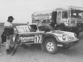Porsche 911 4x4 6ème du Paris Dakar 1984