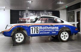 Porsche 911 4x4 vainqueur Paris Dakar 1984