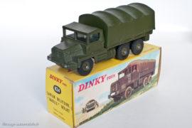 Dinky Toys réf. 824 - Berliet Gazelle militaire