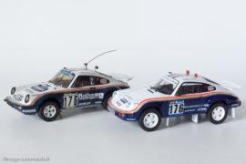 Porsche 911 4x4 vainqueur Paris Dakar 1984 - AMR Minichamps réf. 390 & Altaya