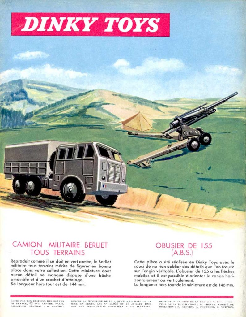 Meccano Magazine novembre 1958