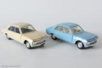 Peugeot 504 berline - Dinky Toys France & Espagne réf. 1415